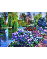 'Promise of Spring' by David Lloyd Glover Ready to Hang Canvas Wall Art, Multi Colored
