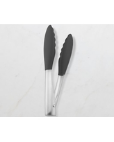"""Williams Sonoma Silicone Tipped Tongs, 9"""""""