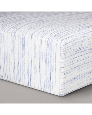 Jersey Fitted Crib Sheet - Cloud Island Blue