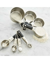 OXO Stainless-Steel Measuring Cups & Spoons Set