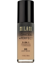 Milani Conceal + Perfect 2-in-1 Foundation 03 Light Beige 1floz