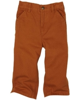 Carhartt Baby Boys' & Toddler Washed Dungaree Pants, Brown, 12 Months