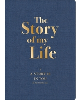 The Story of My Life Activity Journal - Piccadilly, Blue