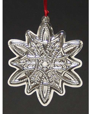 Towle Silver Celtic Series-Ornament 2003 Celtic Snowflake - Boxed