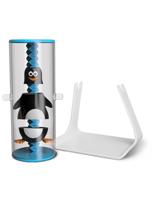 Wiggle Stix - Penguin - Baby Toys & Gifts for Ages 1 to 5 - Fat Brain Toys