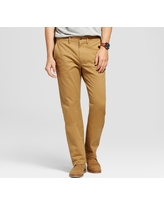Men's Straight Fit Hennepin Chino Pants - Goodfellow & Co Light Brown 32X30