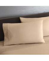 Simply Vera Vera Wang Egyptian Cotton 800 Thread Count Sheet Set or Pillowcases, Med Beige, KG PC 2PK