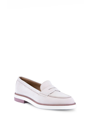 Women's Santoni Ancient Penny Loafer, Size 5.5US - Pink
