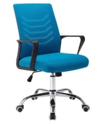 2020 Sales On Porthos Home Baez Swivel Office Chair Mesh Back And Adjustable Height Blue