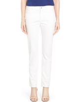Women's Lafayette 148 New York Curvy Fit Jeans, Size 0 - White