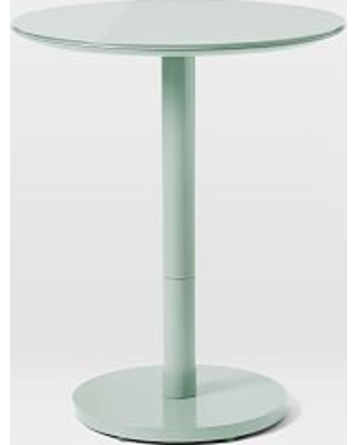 Chroma Bistro Table, Small, Dusty Mint