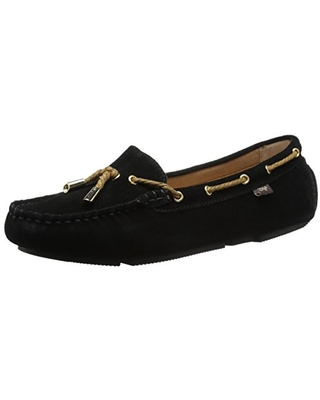 Dije California Women's Status Moc, Black, 5 M US