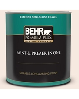 Amazing Deal On Behr Ultra 1 Qt W D 110 Soft Muslin Flat Exterior Paint And Primer In One