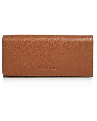 Longchamp Longchamp Veau Foulonne Checkbook Wallet from Bloomingdale's |  Real Simple
