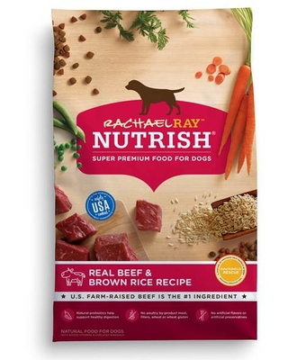 Rachael Ray Nutrish Real Beef & Brown Rice Recipe Dog Food