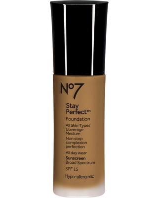 No7 Stay Perfect Foundation Spf 15 Chestnut (Brown) - 1oz