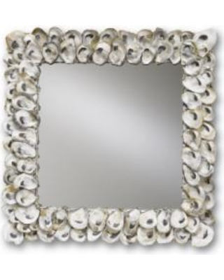Currey and Company Oyster Shell Mirror Wall Mirror - 1348