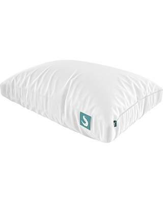 Sleepgram Pillow - PREMIUM Adjustable Loft - Soft Hypoallergenic Microfiber Pillow with washable removable cover - 18 x 26 - Standard/Queen size