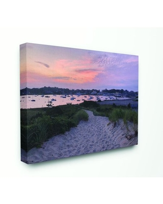 Stupell Industries Beach Boat Town Landscape Photograph Canvas Wall Art by Michelle DeCarli