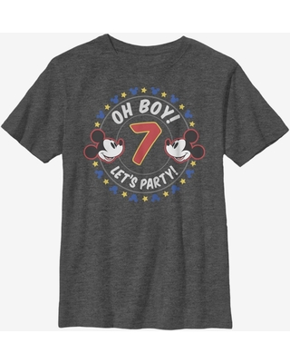 Disney Mickey Mouse Oh Boy Mickey 7 Youth T-Shirt