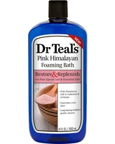 Dr Teal's Restore & Replenish Pure Epsom Salt & Essential Oils Pink Himalayan Foaming Bath - 34oz