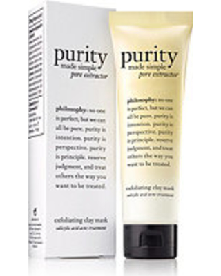Philosophy Travel Size Purity Made Simple Pore Extractor Exfoliating Clay Mask