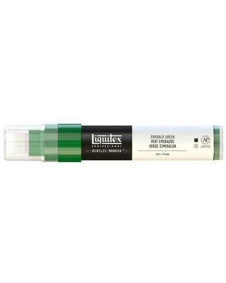 Liquitex Paint Marker, Wide, 15mm Nib, Emerald Green