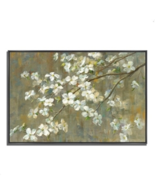 "Tangletown Fine Art Dogwood in Spring by Danhui Nai Fine Art Giclee Print on Gallery Wrap Canvas, 47"" x 32"""