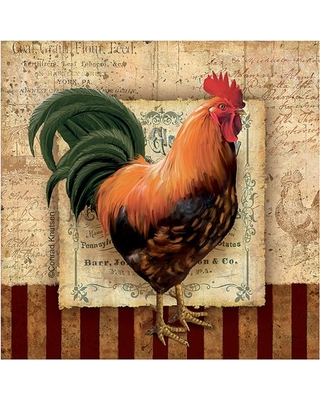 Thirstystone Occasions Drink Coasters, Set, Prize Rooster II