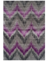 """Closeout! Dalyn Modern Abstracts Chevron Orchid 7'10"""" x 10'7"""" Area Rug"""