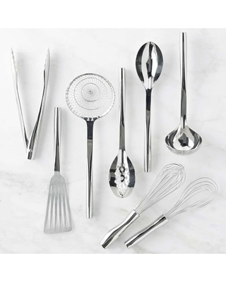 Williams Sonoma Signature Stainless Steel Utensils, Set of 8