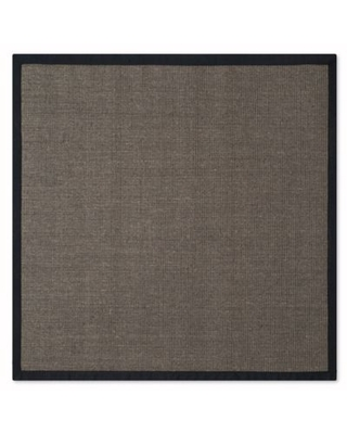 Safavieh Natural Fiber Madeline 4-Foot Accent Rug in Charcoal