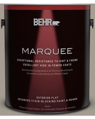 Great Deal On Behr Marquee 1 Gal N200 4 Rustic Taupe Flat Exterior