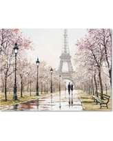 'Eiffel Tower Pastel' by The Macneil Studio Ready to Hang Canvas Wall Art, Multicolored
