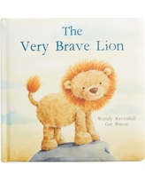 'The Very Brave Lion' Board Book, Size One Size - Yellow
