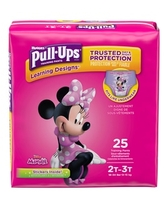 Pull-Ups Learning Designs for Girls Potty Training Pants, 2T-3T (18-34 lbs.), 25 Ct. (Packaging May Vary) | CVS
