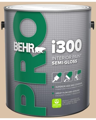 Find Deals On Behr Pro 1 Gal T14 13 Grand Soiree Semi Gloss Interior Paint