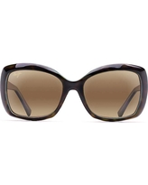 Maui Jim Women's Orchid Polarized Sunglasses - One Size - Tortoise with Peacock / HCL Bronze