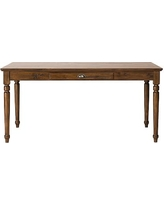 Printer's Large Writing Desk, Tuscan Chestnut stain