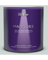Deals For Behr Marquee 1 Qt Mq3 26 Mainsail One Coat Hide Eggshell Enamel Interior Paint Primer