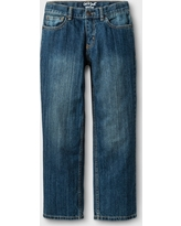 Boys' Relaxed Straight Fit Jeans - Cat & Jack Blue 8