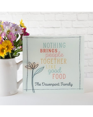 Personalized Trendy Glass Cutting Boards Davenport