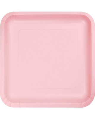 18ct Classic Pink Disposable Plates  sc 1 st  Better Homes and Gardens & Here\u0027s a Great Deal on 18ct Classic Pink Disposable Plates
