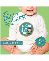 The Belly Sticker Book - Baby Toys & Gifts for Babies - Fat Brain Toys