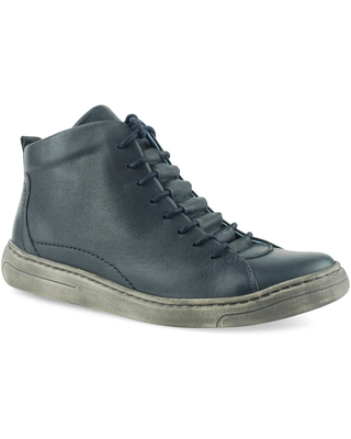 CLOUD Fallon High Top Sneaker, Size 8-8.5Us in Napa Blue Napa Leather at Nordstrom