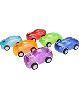 6ct Pull Back Toy Car - Spritz, Multi-Colored