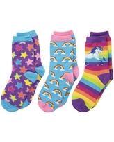 Socksmith Sparkle Party (Toddler/Little Kid/Big Kid) (Variety) Crew Cut Socks Shoes