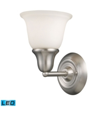Berwick 1-Light Vanity in Brushed Nickel - Led Offering Up To 800 Lumens (60 Watt Equivalent) with F