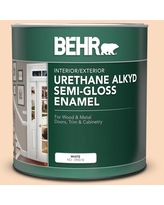 Can T Miss Bargains On Behr 5 Gal M230 3 Mystic Opal Urethane Alkyd Satin Enamel Interior Exterior Paint
