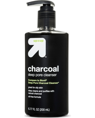 Charcoal Deep Pore Cleanser - 6.77 fl oz - up & up